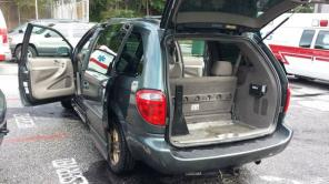 Handicap wheelchair van dodge caravan 2002